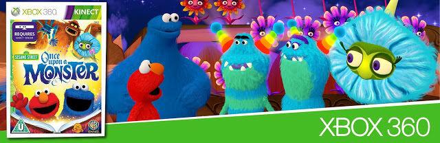Sesame Street xbox 360 gyerek játék