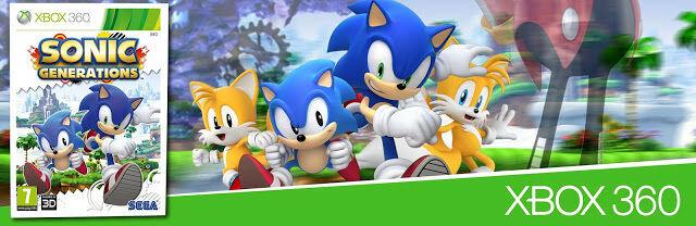 használt Sonic Generations játék
