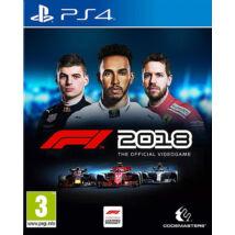 F1 2018 PlayStation 4 (használt)