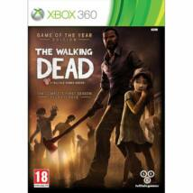 The Walking Dead The Complete First Season Game of the Year Edition Xbox 360 (használt)