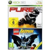 LEGO Batman + Pure (double pack) Xbox 360 (használt)