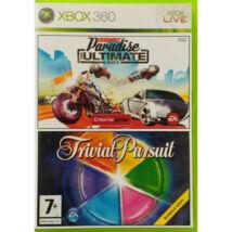 Burnout Paradise (The Ultimate Box) + Trivial Pursuit Xbox 360 (használt)