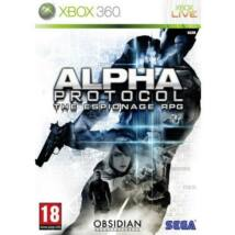 Alpha Protocol Xbox 360 (használt)