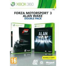 Alan Wake + Forza Motorsport 3 Xbox 360 (használt)