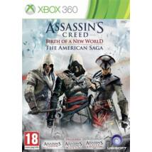 Assassin's Creed American Saga ( III + IV Black Flag) Xbox 360 (használt)