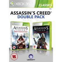 Assassin's Creed Brotherhood + Revelations Xbox 360 (használt, 2 db játékot tartalmaz)