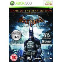 Batman Arkham Asylum Game of The Year Edition Xbox 360 (használt)