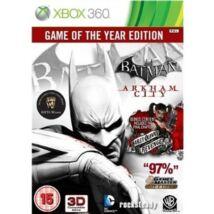 Batman Arkham City Game of The Year Edition Xbox 360 (használt)