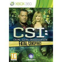 CSI: Crimce Scene Investigation Fatal Conspiracy Xbox 360 (használt)