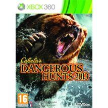 Cabela's Dangerous Hunts 2013 Xbox 360 (használt)