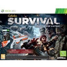 Cabela's Survival Shadows Of Katmai + Gun Xbox 360 (használt)