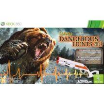 Cabelas Dangerous Hunts 2013 Bundle Xbox 360 (használt)