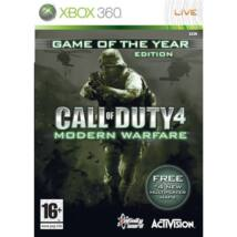 Call Of Duty 4 GOTY Ed. Xbox 360 (használt)