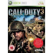 Call of Duty 3 Xbox One Kompatibilis Xbox 360 (használt)