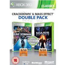Crackdown + Mass Effect Xbox 360 (használt)
