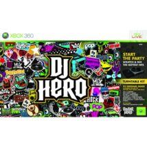 DJ Hero & Turntable Kit Xbox 360 (használt)