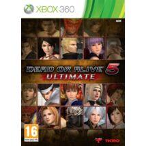 Dead Or Alive 5 Ultimate Xbox 360 (használt)