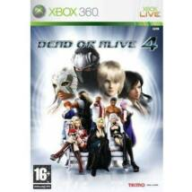 Dead or Alive 4 Xbox 360 (használt)