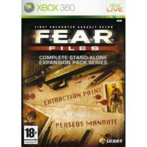 F.E.A.R. Files Xbox 360 (használt)