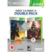 Fable 2 + Halo 3 Xbox 360 (használt)