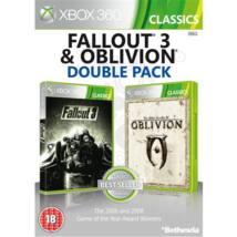 Fallout 3 + Oblivion Xbox 360 (használt)