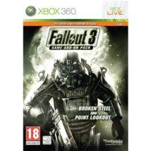 Fallout 3 Broken Steel & Point Lookout Xbox 360 (használt)
