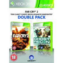 Far Cry 2 + Ghost Recon Advanced Warfighter Xbox 360 (használt)