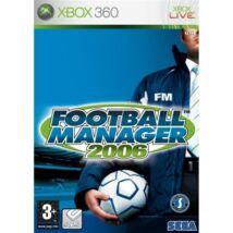 Football Manager 2006 Xbox 360 (használt)