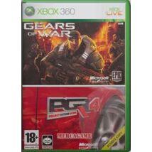 Gears Of War + Project Gotham Racing 4 Xbox 360 (használt)