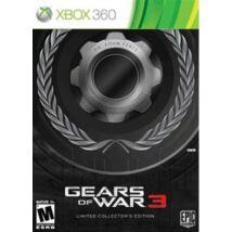 Gears Of War 3 (18) Limted CE Xbox 360 (használt)