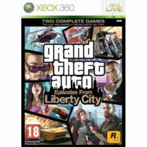 Grand Theft Auto Episodes From Liberty City Xbox 360 (használt)