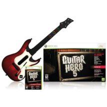 Guitar Hero 5 + Gitár Xbox 360 (használt)