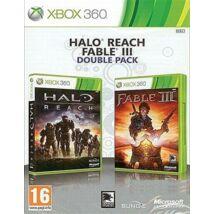 Halo Reach + Fable 3 Xbox 360 (használt)