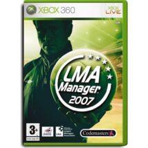 LMA Manager 2007 Xbox 360 (használt)