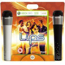 Lips + 2 Microphones Xbox 360 (használt)