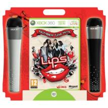 Lips Number One Hits & 2 x Microphones Xbox 360 (használt)