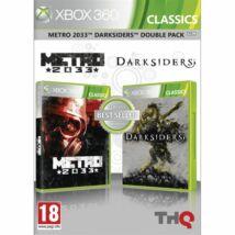 METRO 2033 + Darksiders Double Pack Xbox 360 (használt)