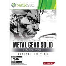 Metal Gear Solid HD Coll. LE & T-Shirt Xbox 360 (használt)