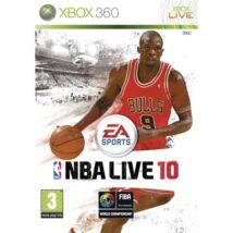 NBA Live 10 Xbox 360 (használt)
