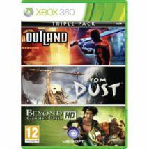 Outland + From Dust + Beyond Good & Evil HD (Triple Pack) Xbox 360 (használt)