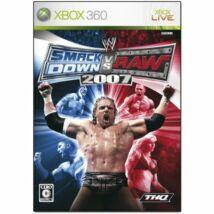 WWE Smackdown vs Raw 2007 Xbox 360 (használt)