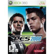Pro Evolution Soccer 2008 Xbox 360 (használt)