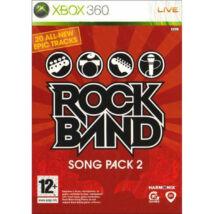 Rock Band Song Pack 2 Xbox 360 (használt)