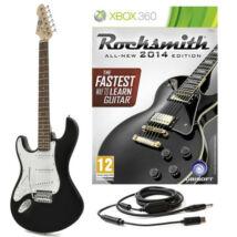 Rocksmith 2014 (+ LA Electric Guitar and Cable) Xbox 360 (használt)