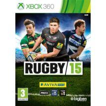 Rugby 15 Xbox 360 (használt)