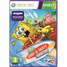 SpongeBob SquarePants: Surf & Skate Roadtrip Kinect Xbox 360 (használt)