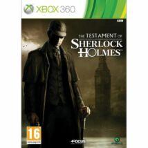 The Testament of Sherlock Holmes Xbox 360 (használt)