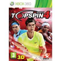 Top Spin 4 Xbox 360 (használt)