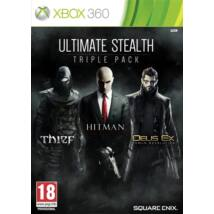 Ultimate Stealth Triple Pack Deus Ex, Thief, Hitman Xbox 360 (használt)