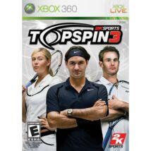 Top Spin 3 Xbox 360 (használt)